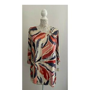 JM Collection Embellished Blouse Medium New NWT